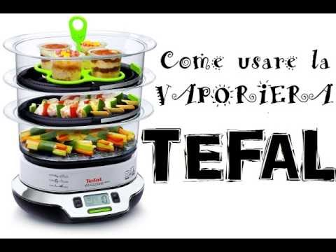 come usare la vaporiera tefal vitacuisine compact youtube. Black Bedroom Furniture Sets. Home Design Ideas
