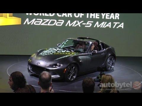 2017 Mazda Mx 5 Rf Retractable Hardtop 2016 New York Auto Show