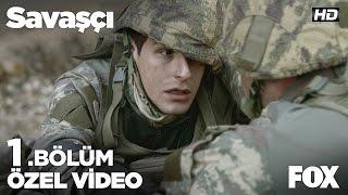 Serdar'dan komutanı Yüzbaşı Kağan'a ''Onları benim için hakla!'' Savaşçı 1. Bölüm