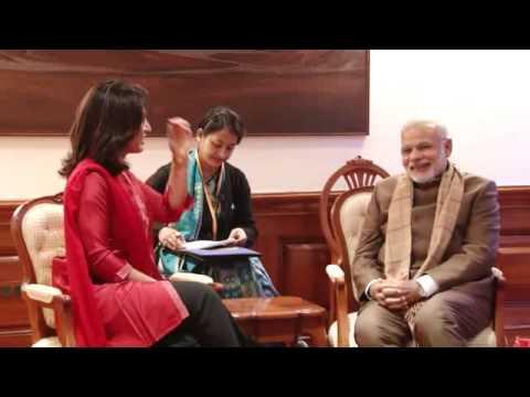 Tulsi Gabbard calls on Prime Minister Narendra Modi in Delhi