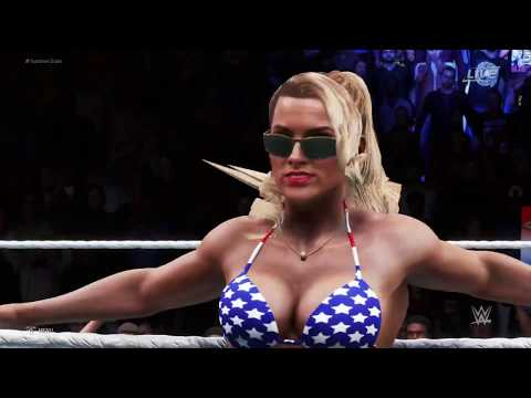 WWE 2K20 - Bikini Girls Fight - Alexa Bliss, Lacey Evans, Mandy Rose 😍