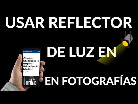 Cómo Usar Reflector de Luz en Fotografías
