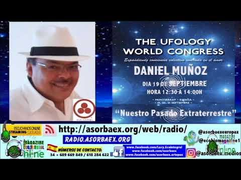 UFOLOGY WORLD CONGRESS   PASADO EXTRATERRESTRE DANIEL MUÑOZ MAGAZINE ECOINTEGRAL MONTSERRAT 2017