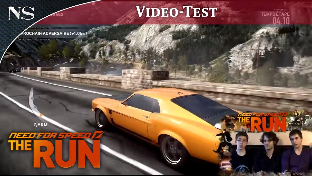 need for speed the run vid o test ps3 nayshow youtube. Black Bedroom Furniture Sets. Home Design Ideas