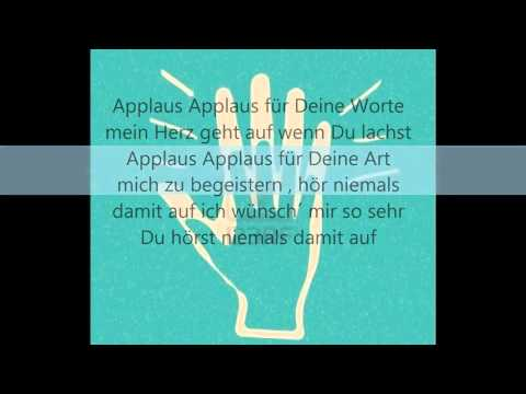 Sportfreunde Stiller   Applaus Applaus !! lyrics
