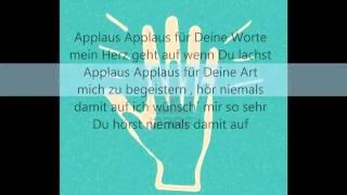 Sportfreunde Stiller   Applaus Applaus !! lyrics