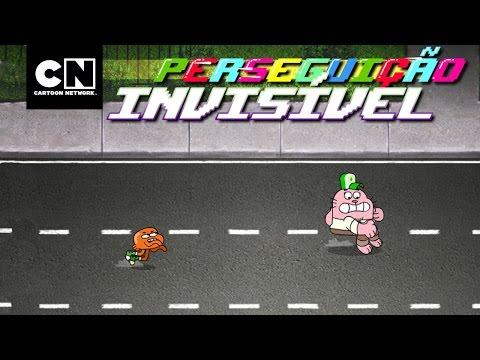 Perseguição Invisível – grátis | CN Joga | Cartoon Network