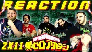 "My Hero Academia [English Dub] 2x11 REACTION!! ""Fight on, Iida"""
