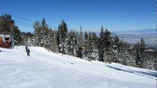 New Mexico Ski Resorts - Skiing at Sandia Peak, Albuquerque, New Mexico