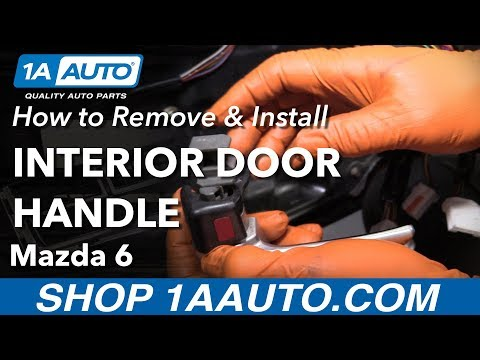 How to Replace Front Interior Door Handle 02-07 Mazda 6