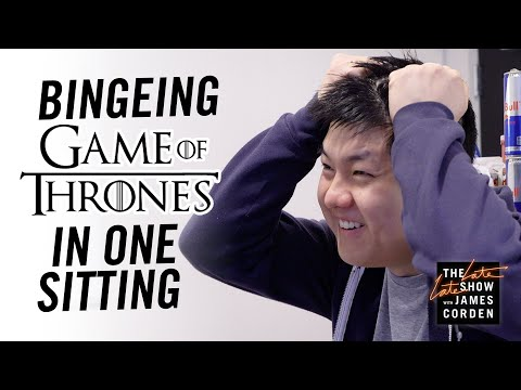 Josh and Ariel in the Morning - James Corden Forced Writer To Binge Watch Game Of Thrones In 67 Hours!
