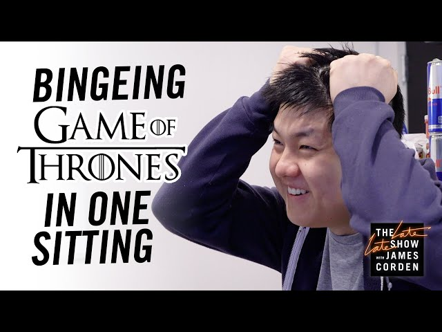 James Forces His Writer to Binge All of Game of Thrones