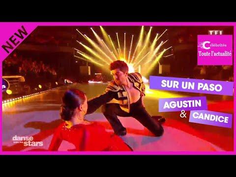 anse avec les Stars 8 : un paso doble plein d'émotion et un baiser avec Candice Pascale... Agustin G