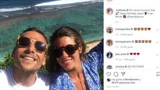 Laura Matamoros felicita a Benji Aparicio y demuestra su buena relación