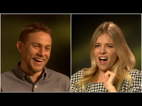 Charlie Hunnam and Sienna Miller play HOW CIVILISED ARE YOU??? - 'The Lost City of Z' EXCLUSIVE