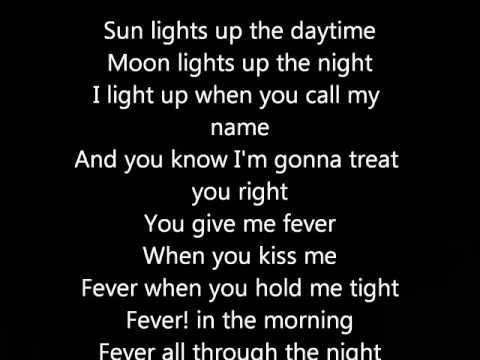 Peggy Lee - Fever (Lyrics)