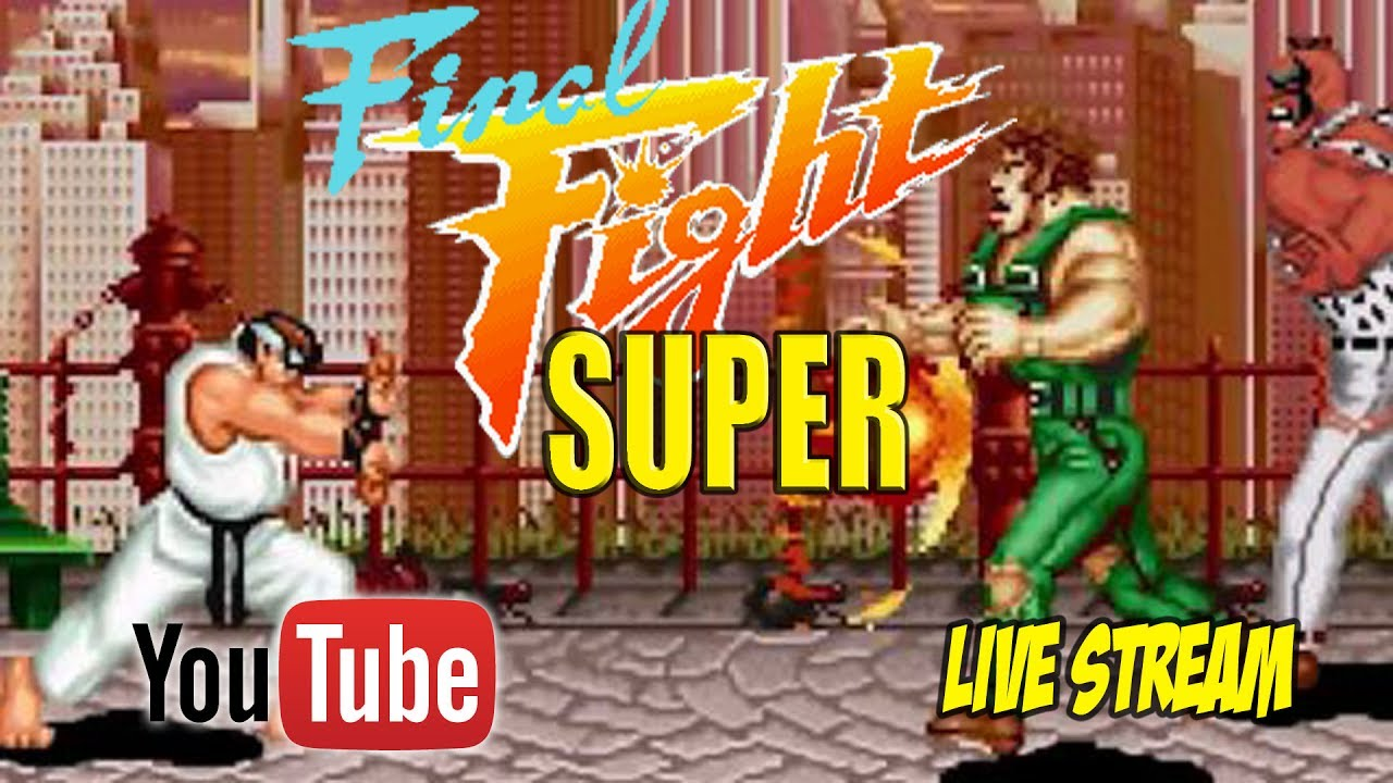 Super Final Fight Gold OpenBor Monday Live Stream Replay by Swagga Kings