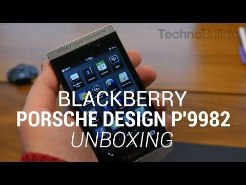 BlackBerry Porsche Design P'9982 Unboxing