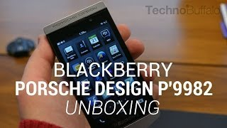 BlackBerry Porsche Design P'9982 Unboxing