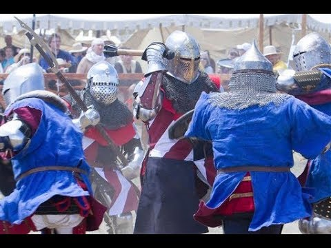 80 hospitalised on day one of Battle of the Nations medieval tournament