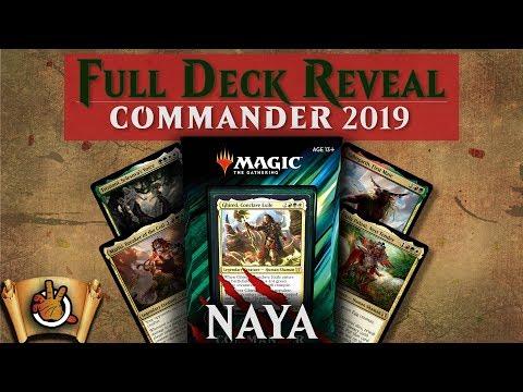 Commander 2019 – Primal Genesis Decklist