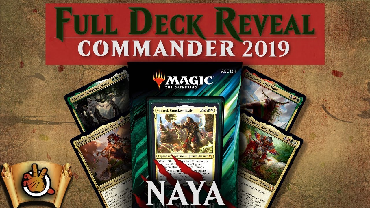 The Decks of Commander (2019 Edition) | MAGIC: THE GATHERING