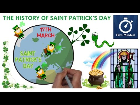 The History of Saint Patrick's Day - Animated Narration for Kids