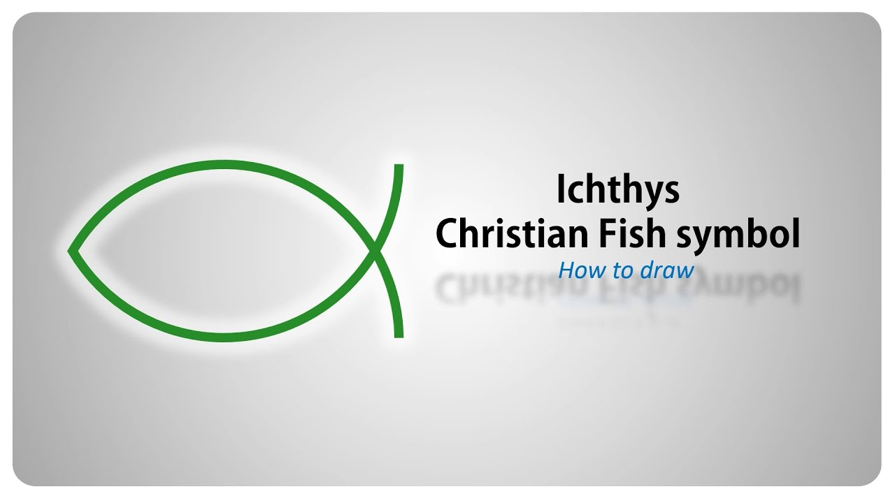 How to draw the ichthys christian fisch symbol step by step how to draw the ichthys christian fisch symbol step by step tutorial english biocorpaavc