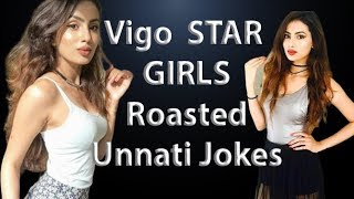VigoStar Roasted By Megh Unnati Jokes TikTok Ki MadhuBaala Urdu  Funny Roasting