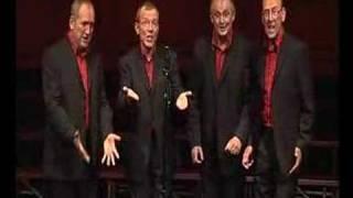 four blokes singin'