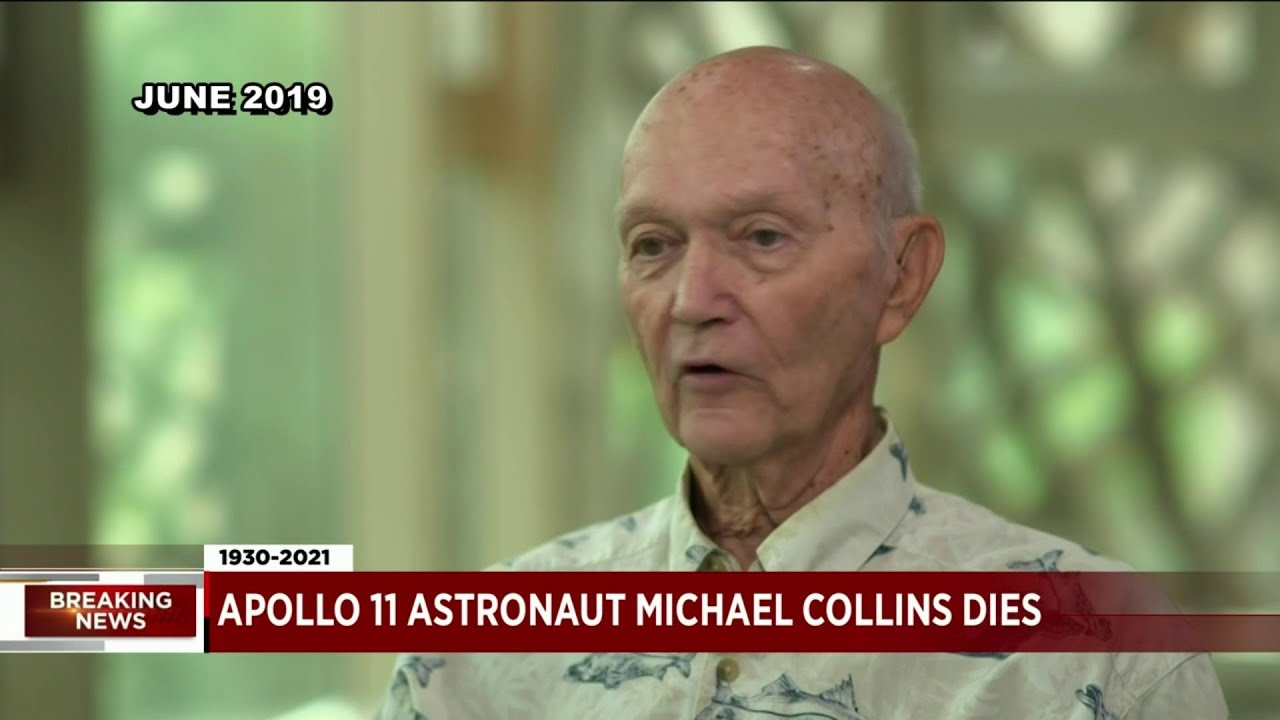 Apollo 11 pilot Michael Collins dies of cancer