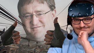Мэддисон играет в Half-Life: Alyx без VR - Двойной класс Габену