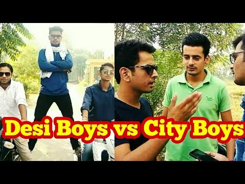 DESI Boys vs CITY Boys | funny video | by Amit Singh n TEAM