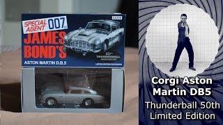 Corgi Aston Martin Db5 Thunderball 50th Anniversary Limited Edition Youtube