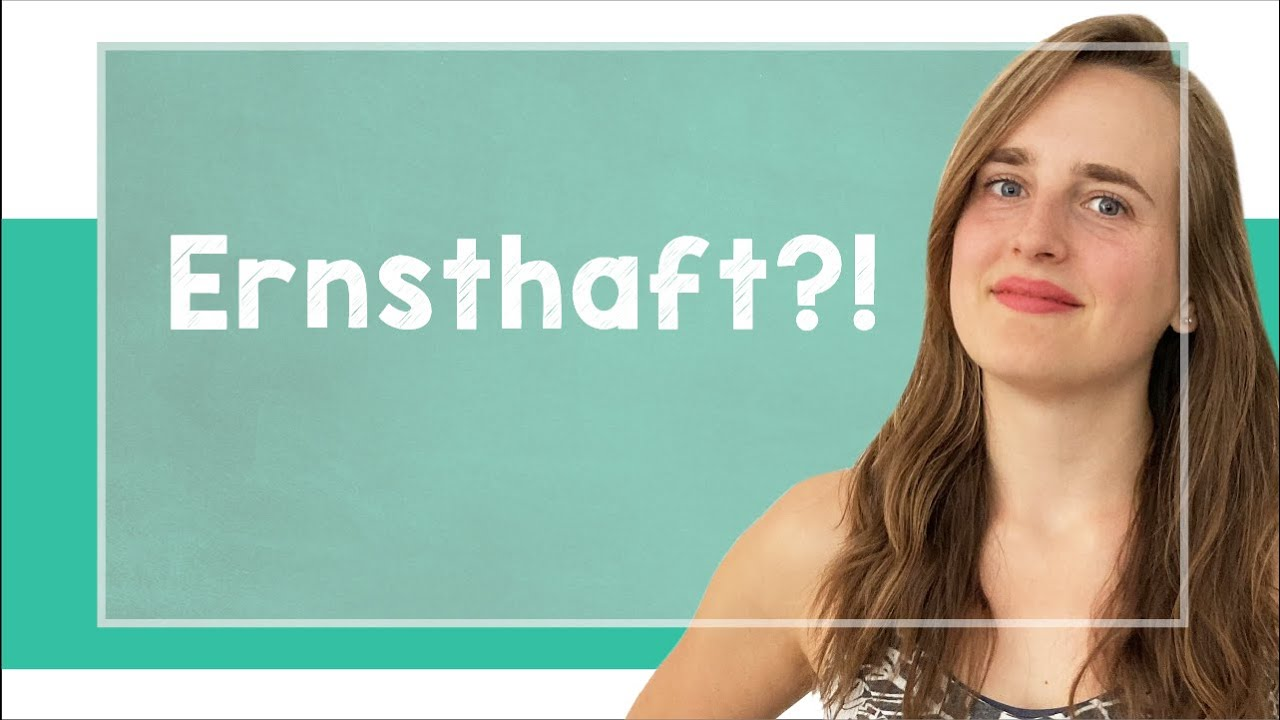 """lingoni GERMAN (29) - How to Say """"Are you serious!? - B1 [2021 Version]"""