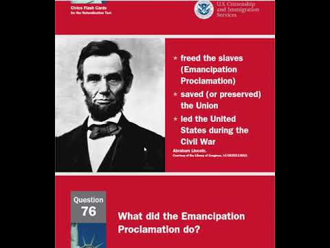 US Citizenship questions and answers from 61-80 updated ...