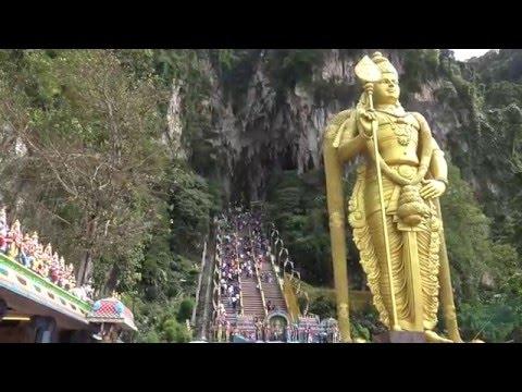 Batu Caves - Hindu Murugan Temple, Kuala Lumpur, Malaysia