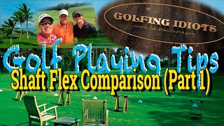 Golf Shaft Flex Comparison Test - Stiff vs. Senior vs. Regular