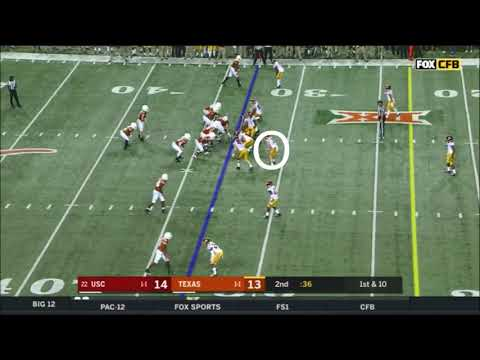 Cameron Smith (USC LB) vs. Texas 2018