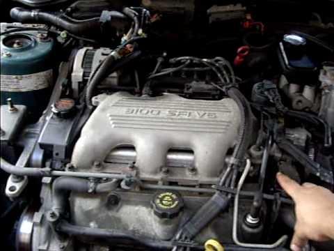 1997 Pontiac Grand AM GT Startup (Under hood view)  YouTube
