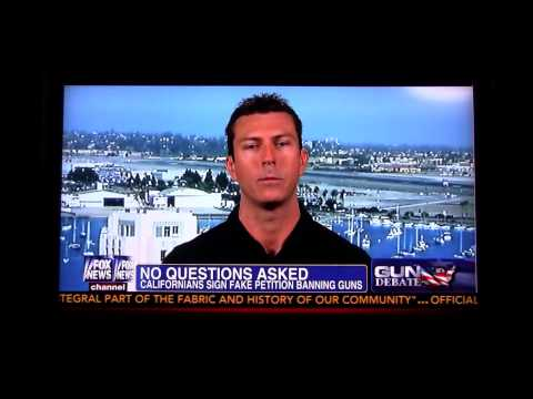 Mark Dice Interviewed on Fox News on Fake Petition Videos - Second Amendment