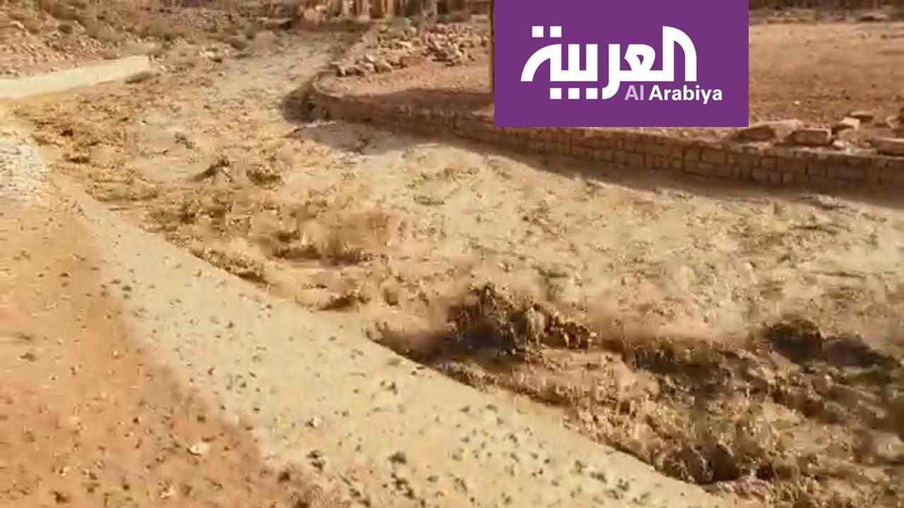 الأردن..  السيول الجارفة تجتاح مدينة البتراء الأثرية