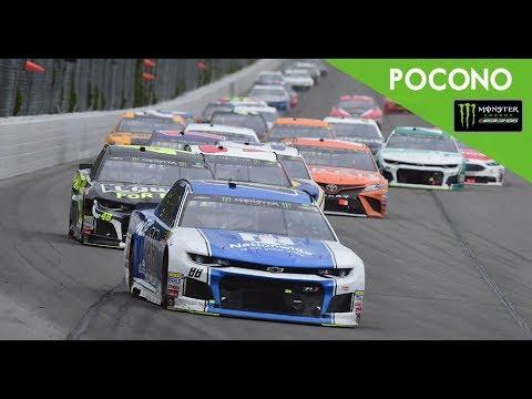 Monster Energy NASCAR Cup Series- Full Race -Pocono 400