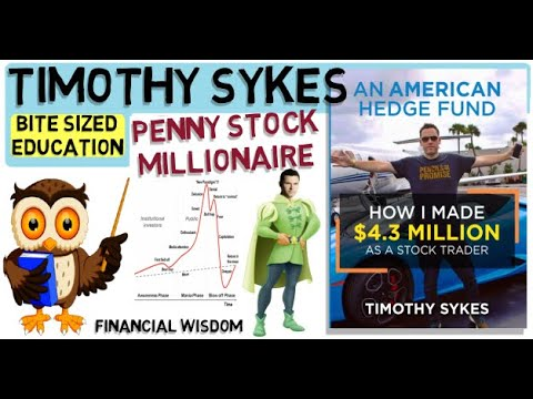 TIMOTHY SYKES – Trading Penny Stocks (An American Hedge Fund)