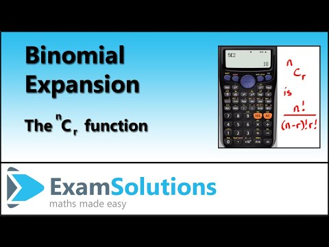 nCr, What is it? : ExamSolutions Maths Revision