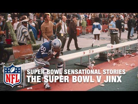 Super Bowl Sensational Stories | The Super Bowl V Jinx | NFL