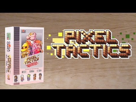 Pixel Tactics - обзор настольной игры.