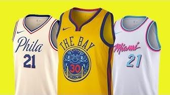 Wie groß fallen NIKE NBA Trikots aus? - NBA City Edition (feat. ericgoestousa)
