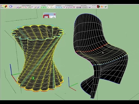Curviloft | SketchUp Extension Warehouse