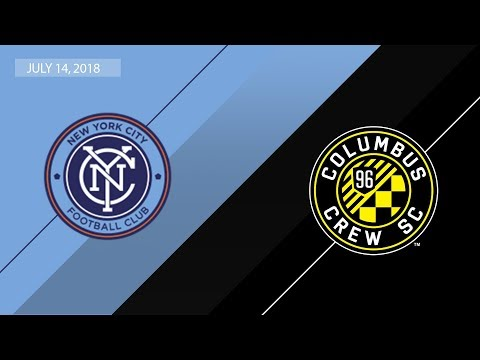 HIGHLIGHTS: New York City FC vs Columbus Crew SC  July 14, 2018